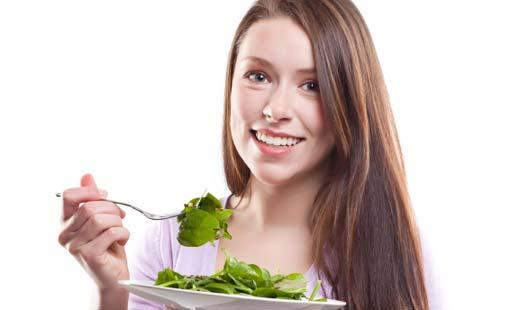 ผลการค้นหารูปภาพสำหรับ กินผักสีเขียว